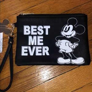 "NEW Disney ""best me ever"" wristlet"